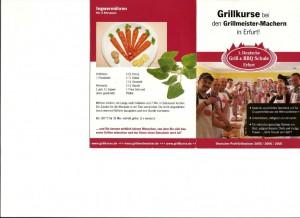 K1600_Flyer 1.Deutsche Grill & BBQ Schule Erfurt I